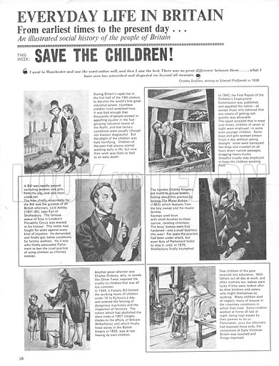 Everyday Life in Britain: Save the Children!.