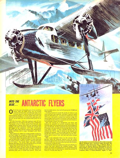 Into the Blue: Antarctic Flyers.