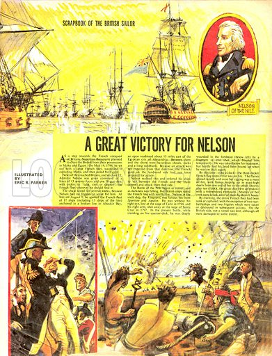 Scrapbook of the British Sailor: A Great Victory for Nelson.