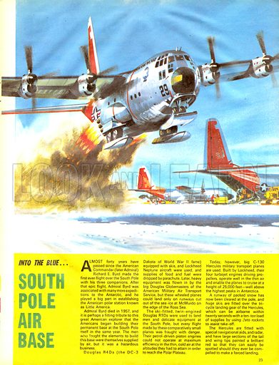 Into the Blue: South Pole Air Base.