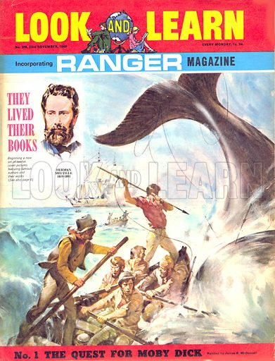 They Lived Their Books: The Quest for Moby Dick.