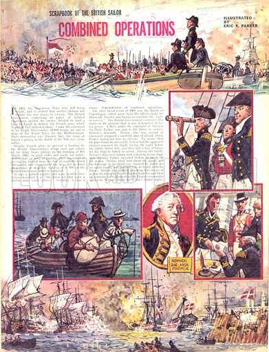 Scrapbook of the British Sailor: Combined Operations.