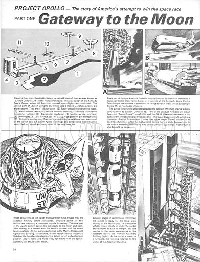 Project Apollo: Gateway to the Moon. The story of America's attempt to win the space race.