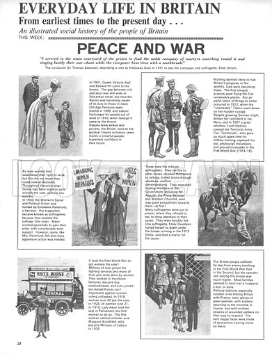 Everyday Life in Britain: Peace and War.