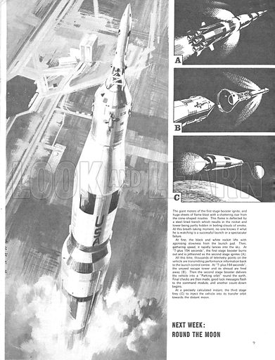 Project Apollo: Countdown and Blast-Off. The story of America's attempt to win the space race.