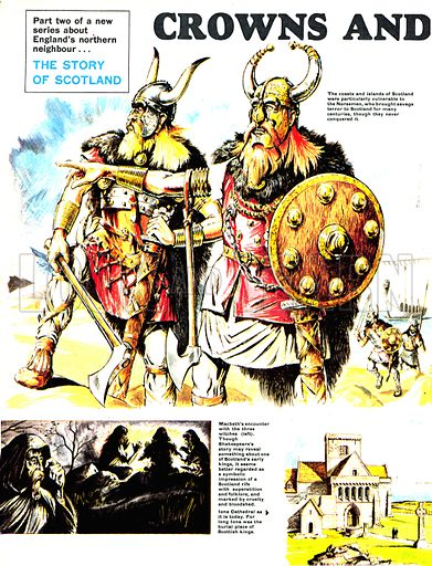 The Story of Scotland: Crowns and Cruel Hearts.