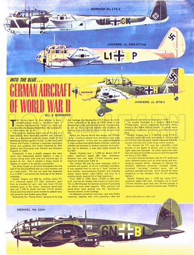 Into the Blue: German Aircraft of World War II.