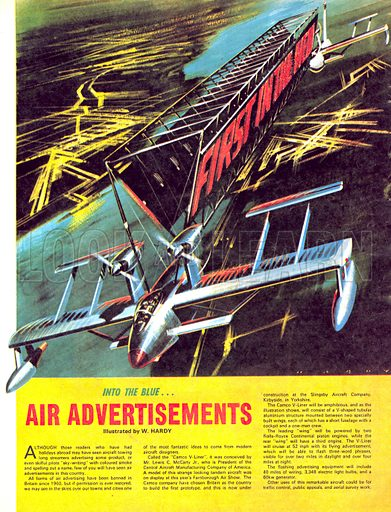 Into the Blue: Air Advertisements.