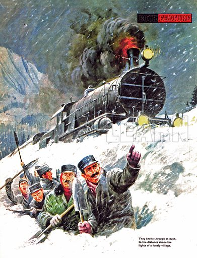 The Snowbound Express.