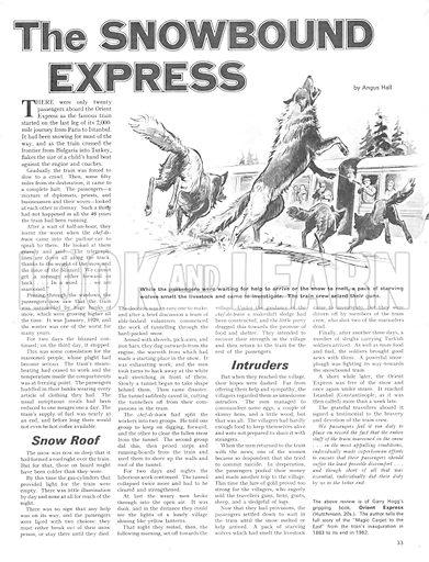 The Snowbound Express.
