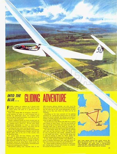 Into the Blue: Gliding Adventure.