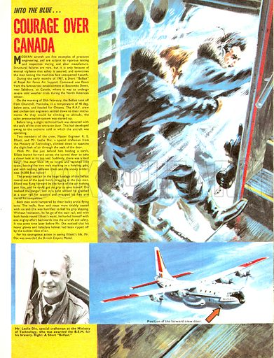Into the Blue: Courage Over Canada.