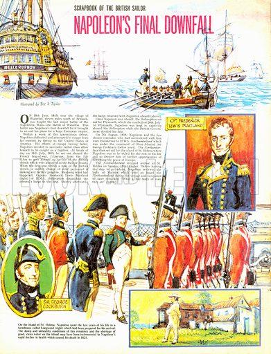 Scrapbook of the British Sailor: Napoleon's Final Downfall.