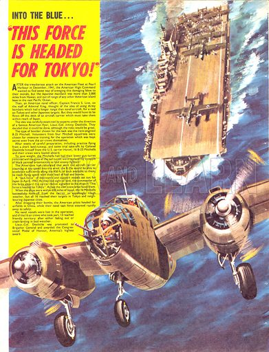 """Into the Blue: """"This Force is Headed for Tokyo""""."""