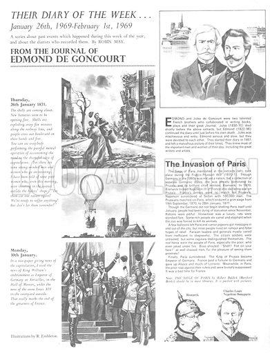 Their Diary of the Week: Edmond de Goncourt.