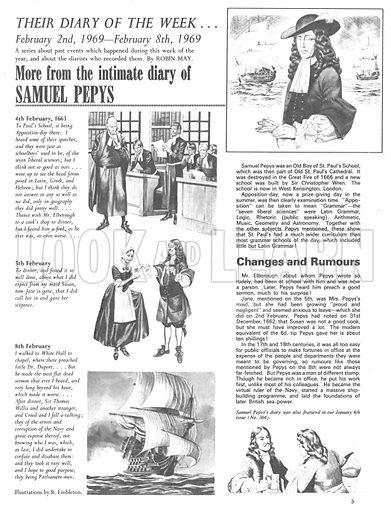 Their Diary of the Week: Samuel Pepys.