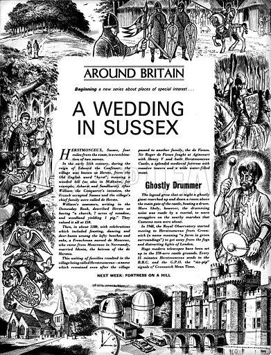 Around Britain: A Wedding in Sussex.