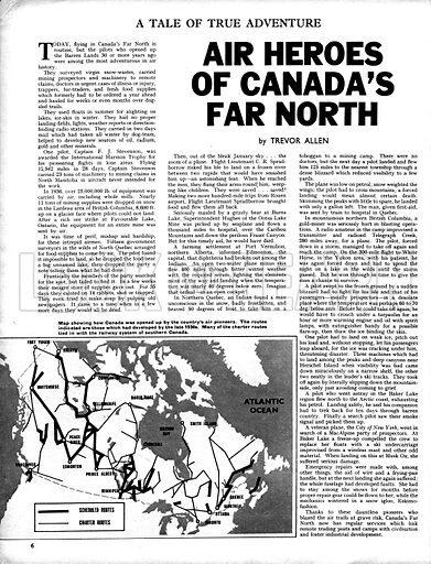 Air Heroes of Canada's Far North.