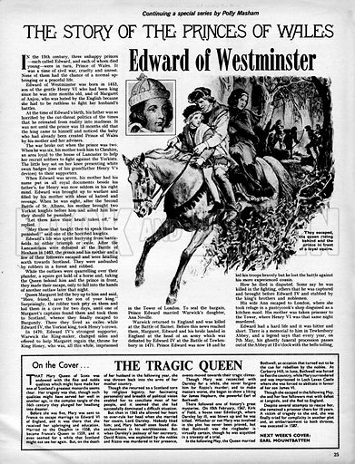 The Story of the Princes of Wales: Edward of Westminster.
