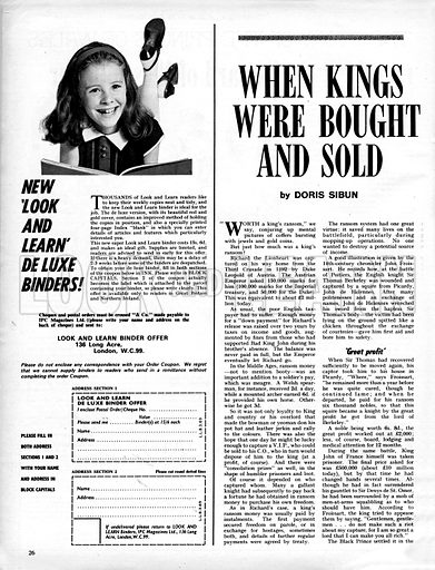 When Kings Were Bought and Sold.