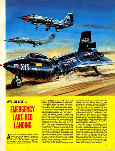 Into the Blue: Emergency Lake-Bed Landing.