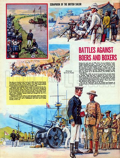 Scrapbook of the British Sailor: Battles Against Boers and Boxers.