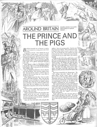 Around Britain: The Prince and the Pigs.