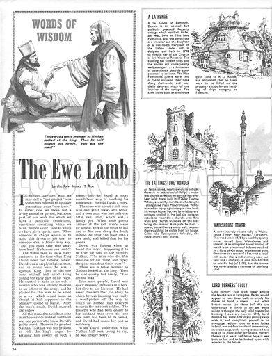 Famous Follies, plus The Ewe Lamb.
