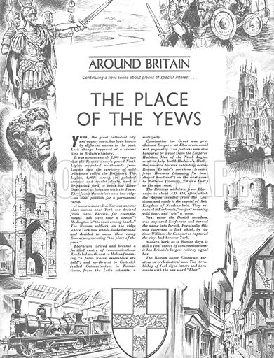 Around Britain: The Place of the Yews.
