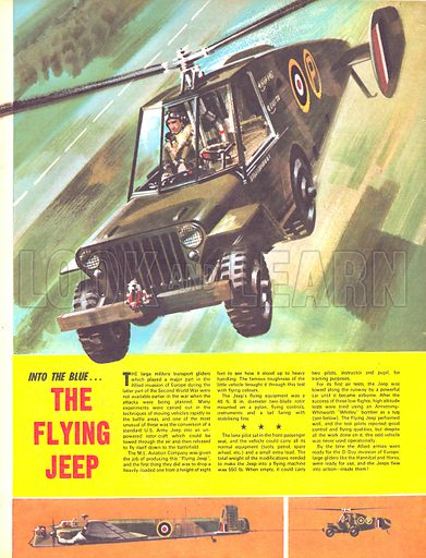 Into the Blue: The Flying Jeep.