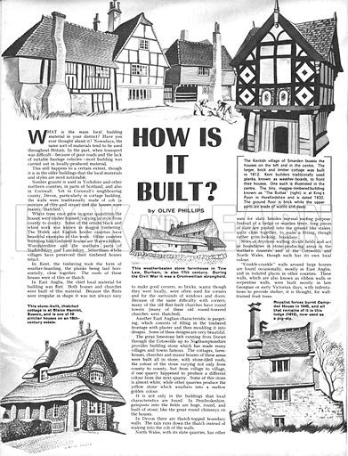 How Is It Built?.