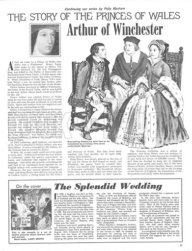 The Story of the Princes of Wales: Arthur of Winchester.
