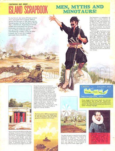 Island Scrapbook: Men, Myths and Minotaurs.