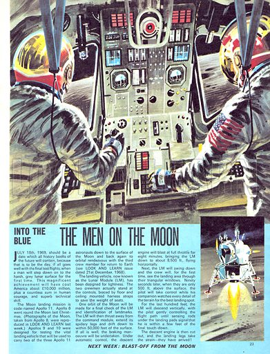Into the Blue: The Men on the Moon.