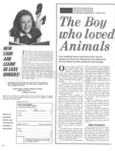 The Boy Who Loved Animals.