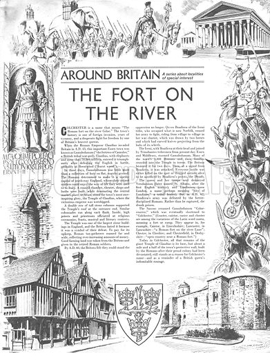 Around Britain: The Fort on the River.