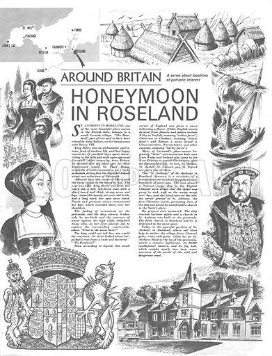 Around Britain: Honeymoon in Roseland.