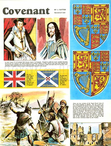 The Story of Scotland: For Kirk and Convenant.