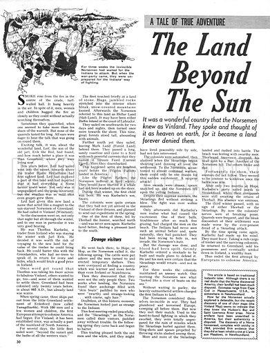 The Land Beyond the Sun.