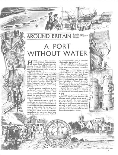 Around Britain: A Port Without Water.