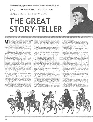 The Great Story-Teller.
