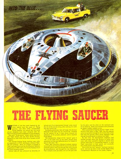 Into the Blue: The Flying Saucer.
