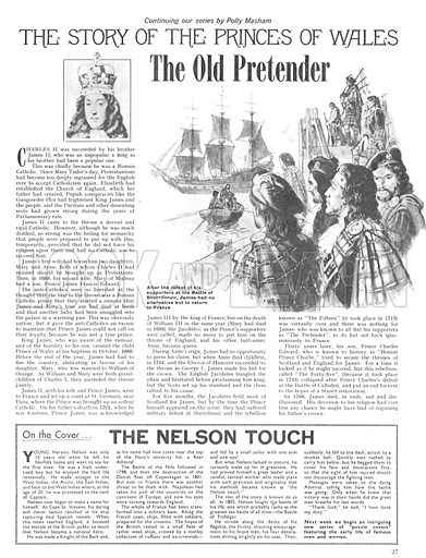 The Story of the Princes of Wales: The Old Pretender.