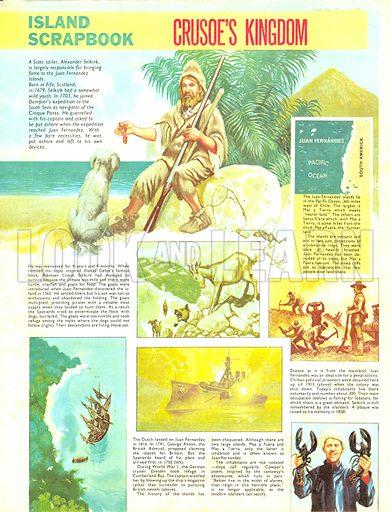 Island Scrapbook: Crusoe's Kingdom.