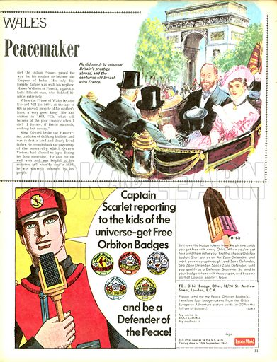 The Story of the Princes of Wales: Edward the Peacemaker.