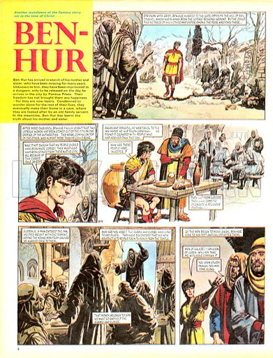 Ben-Hur, based on the novel by Lewis Wallace.
