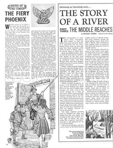 The Story of a River: The Middle Reaches; plus, Signs of the Times: The Fiery Phoenix.