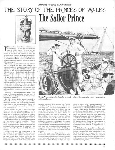 The Story of the Princes of Wales: The Sailor Prince.