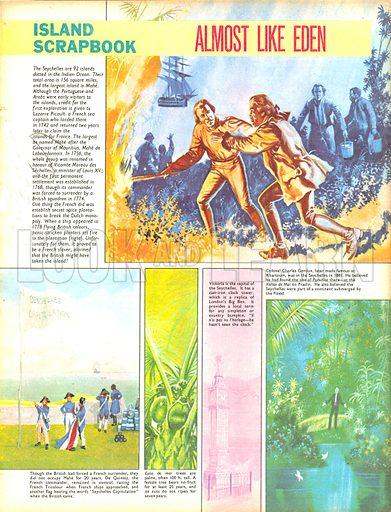 Island Scrapbook: Almost Like Eden.