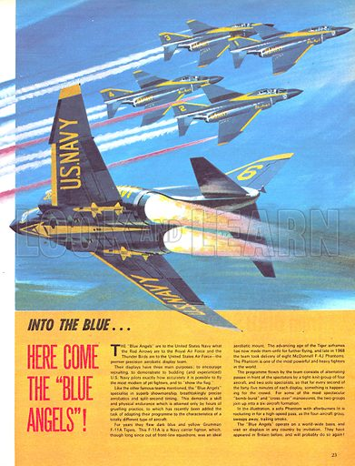 """Into the Blue: Here Come the """"Blue Angels""""!."""